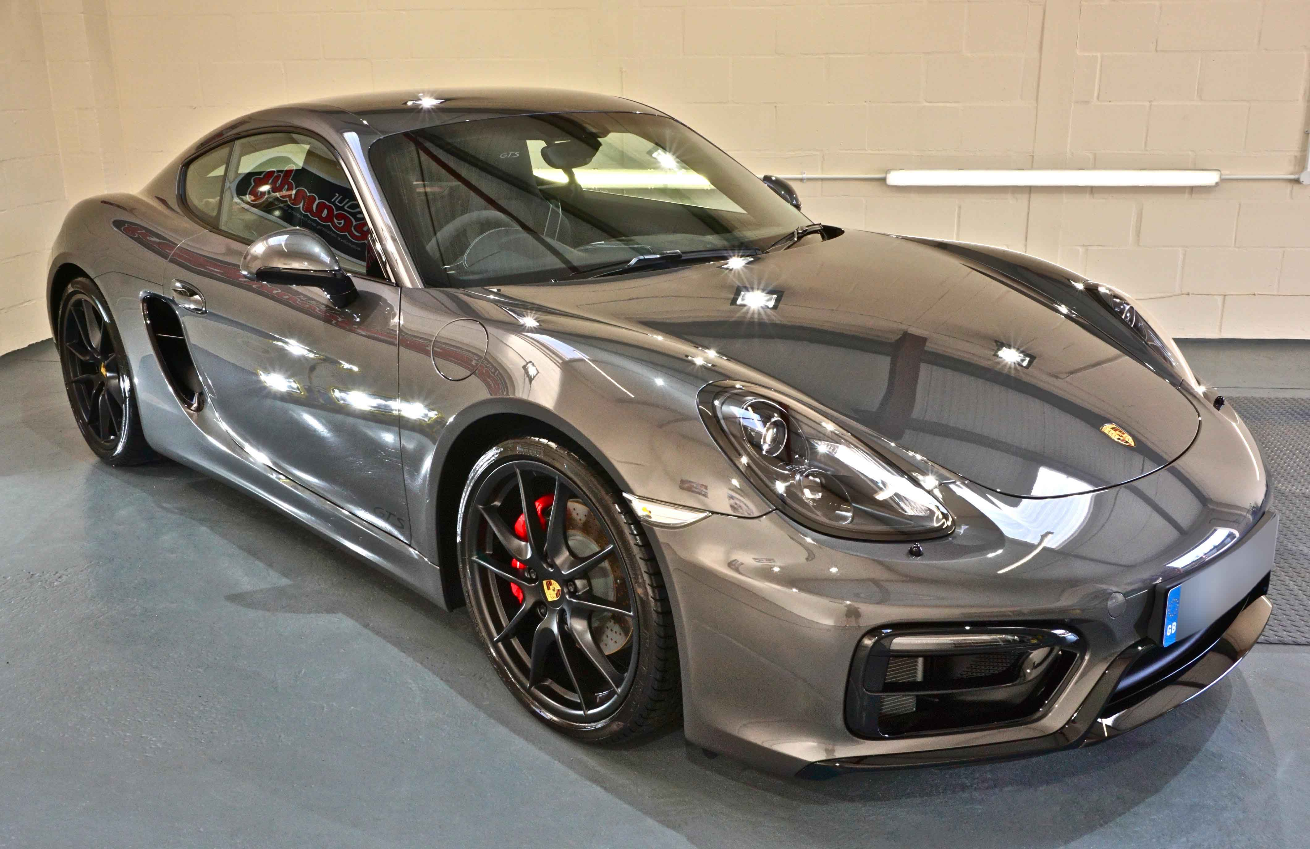Porsche Cayman GTS New Car Enhancement and Protection Detail with XPEL Bronze Package PPF