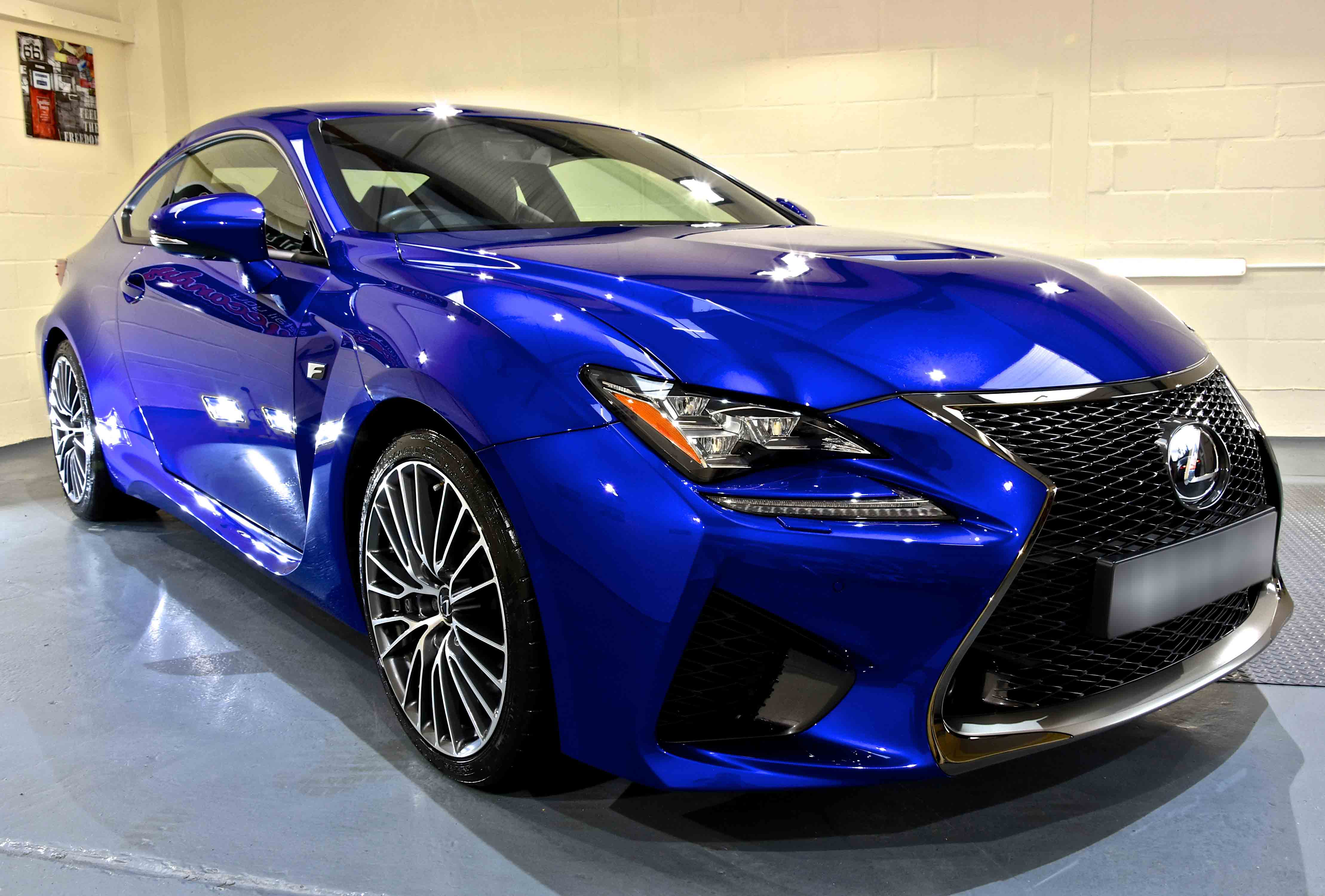 Lexus RC-F Paint Correction Detail with Gtechniq Crystal Serum Light