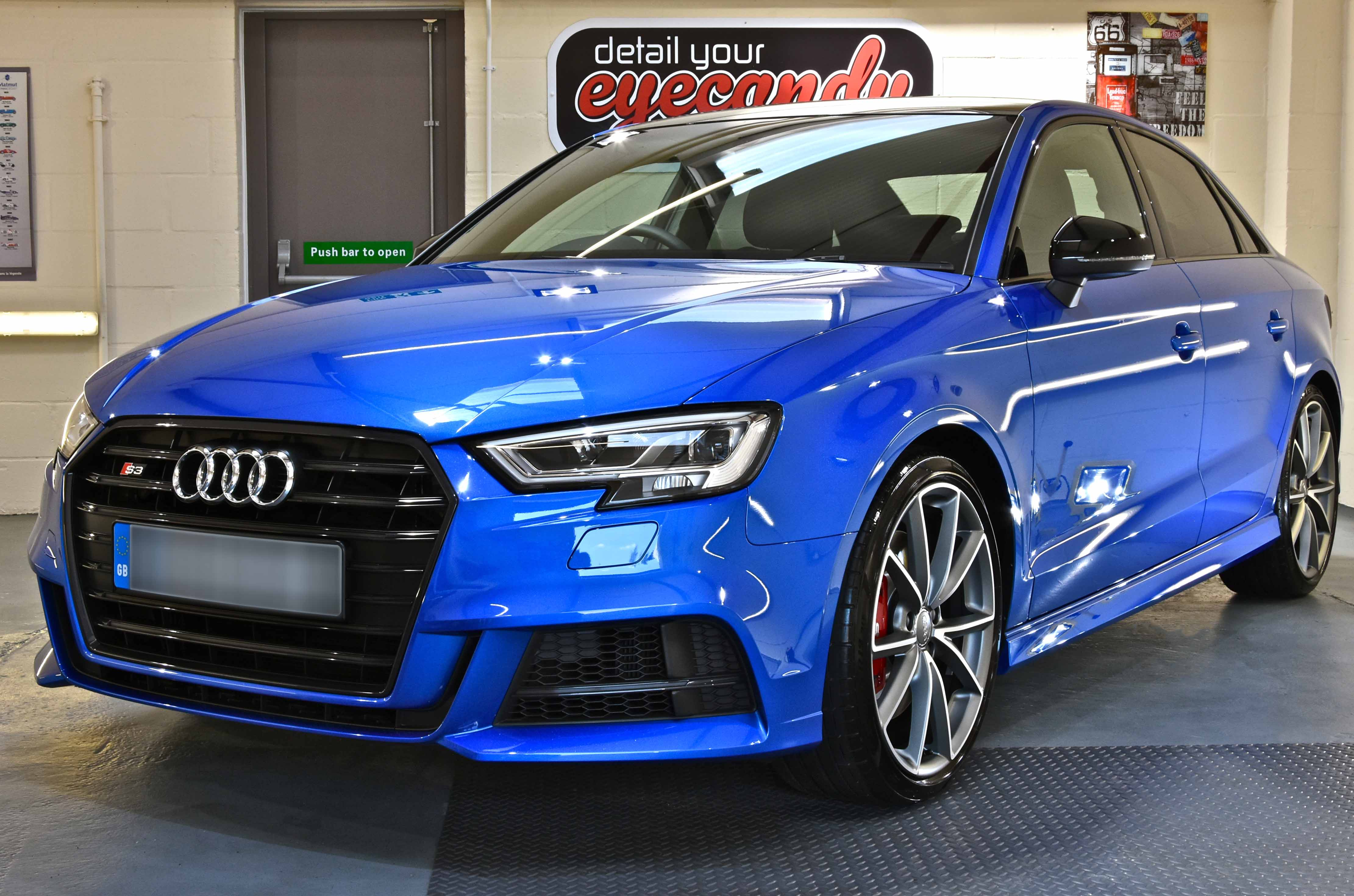 Audi S3 New Car Enhancement and Protection Detail with Kamikaze Collection Enrei