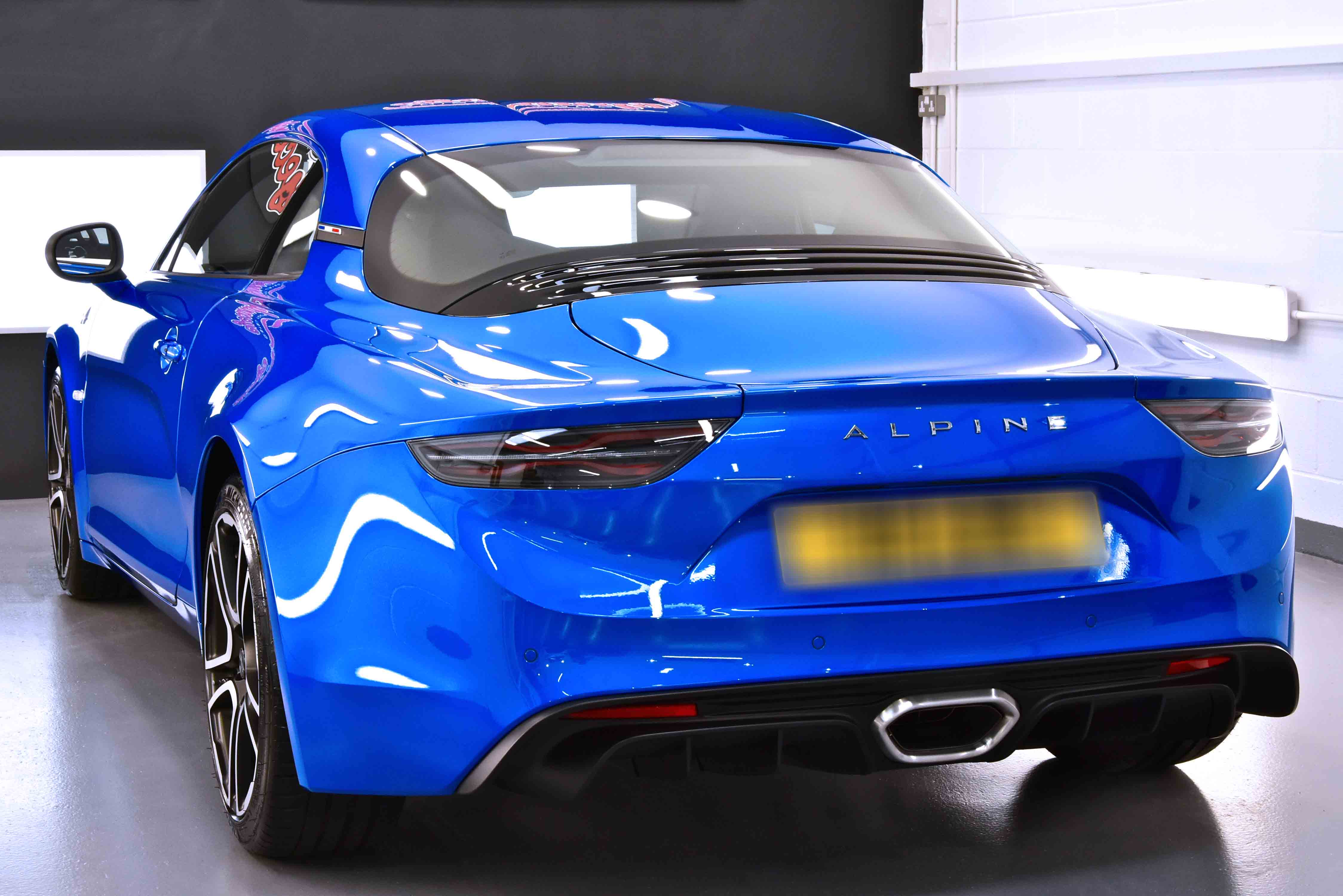 Alpine A110 New Car Enhancement and Protection Detail with Gtechniq Crystal Serum Ultra and XPEL PPF