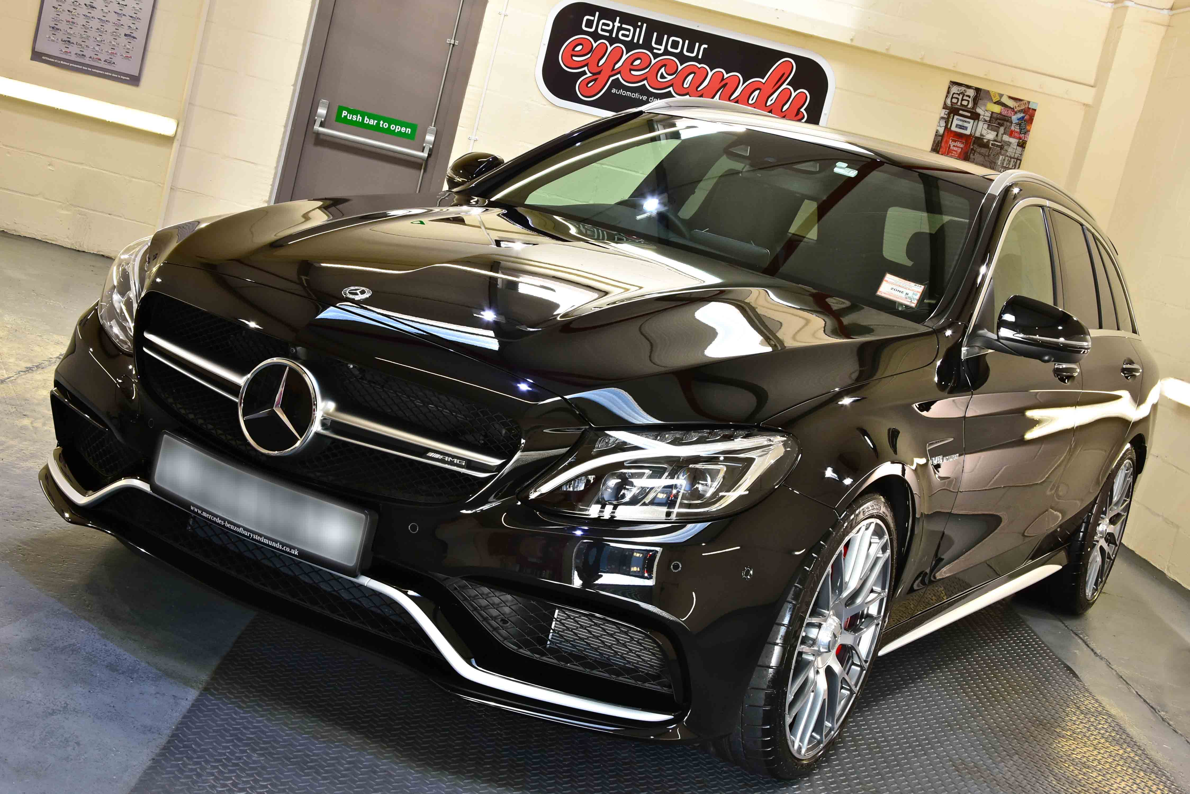 Mercedes-AMG E63 S Estate New Car Enhancement and Protection Detail with Gyeon DuraFlex
