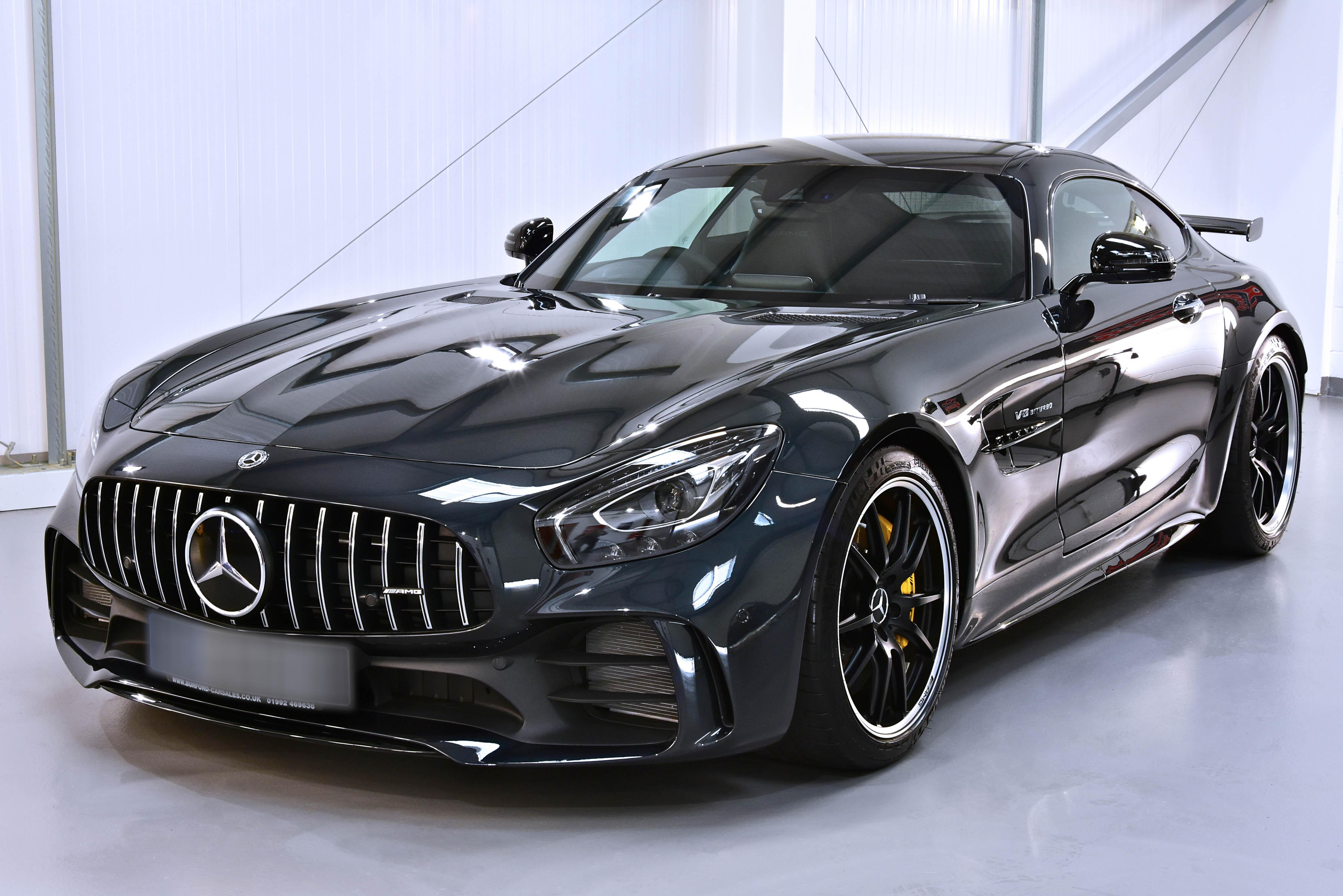 Mercedes-AMG GT R Coupé New Car Enhancement and Protection Detail with Gtechniq Crystal Serum Ultra and XPEL PPF