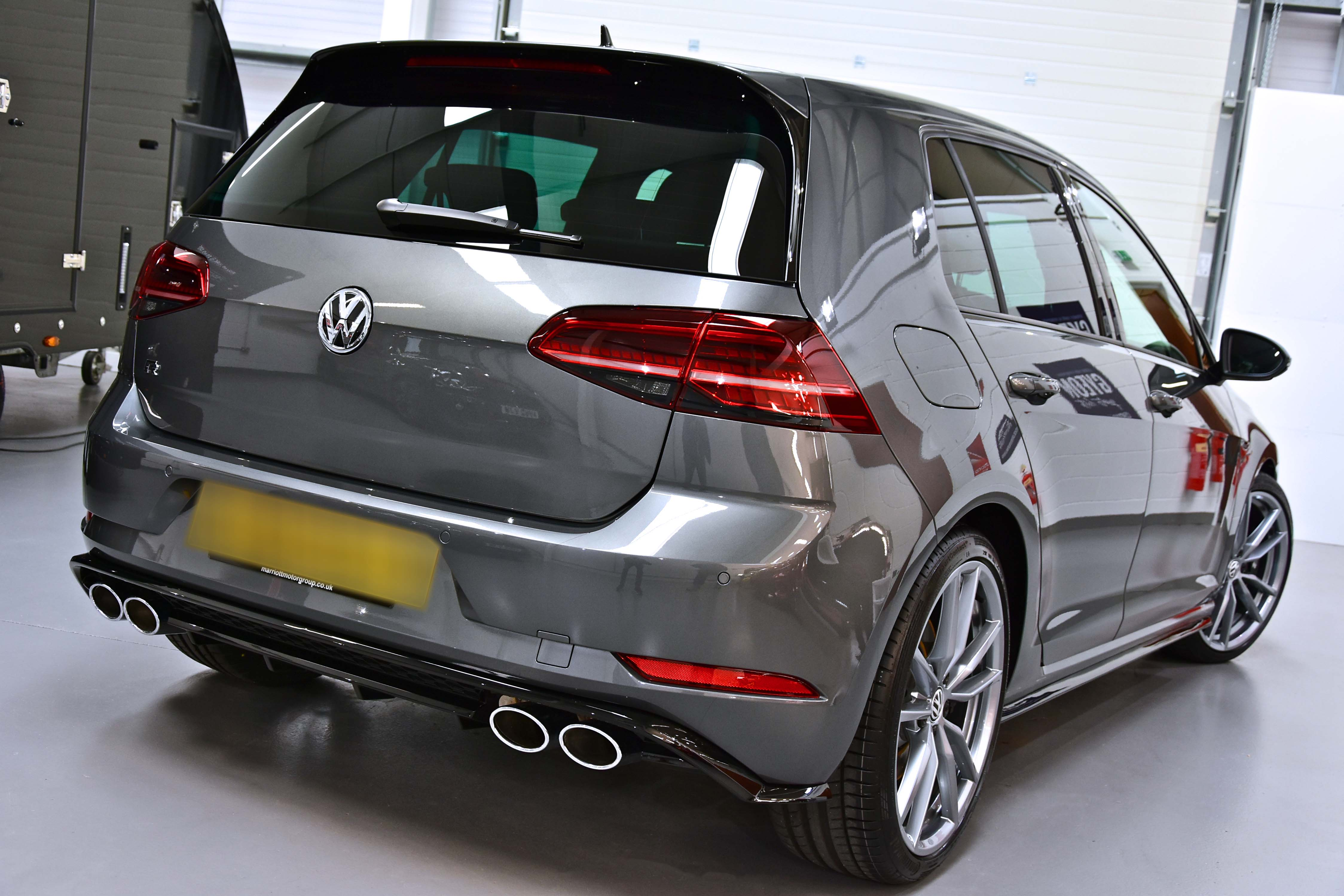 VW Golf R New Car Enhancement and Protection Detail with Feynlab Self Heal Plus and XPEL PPF