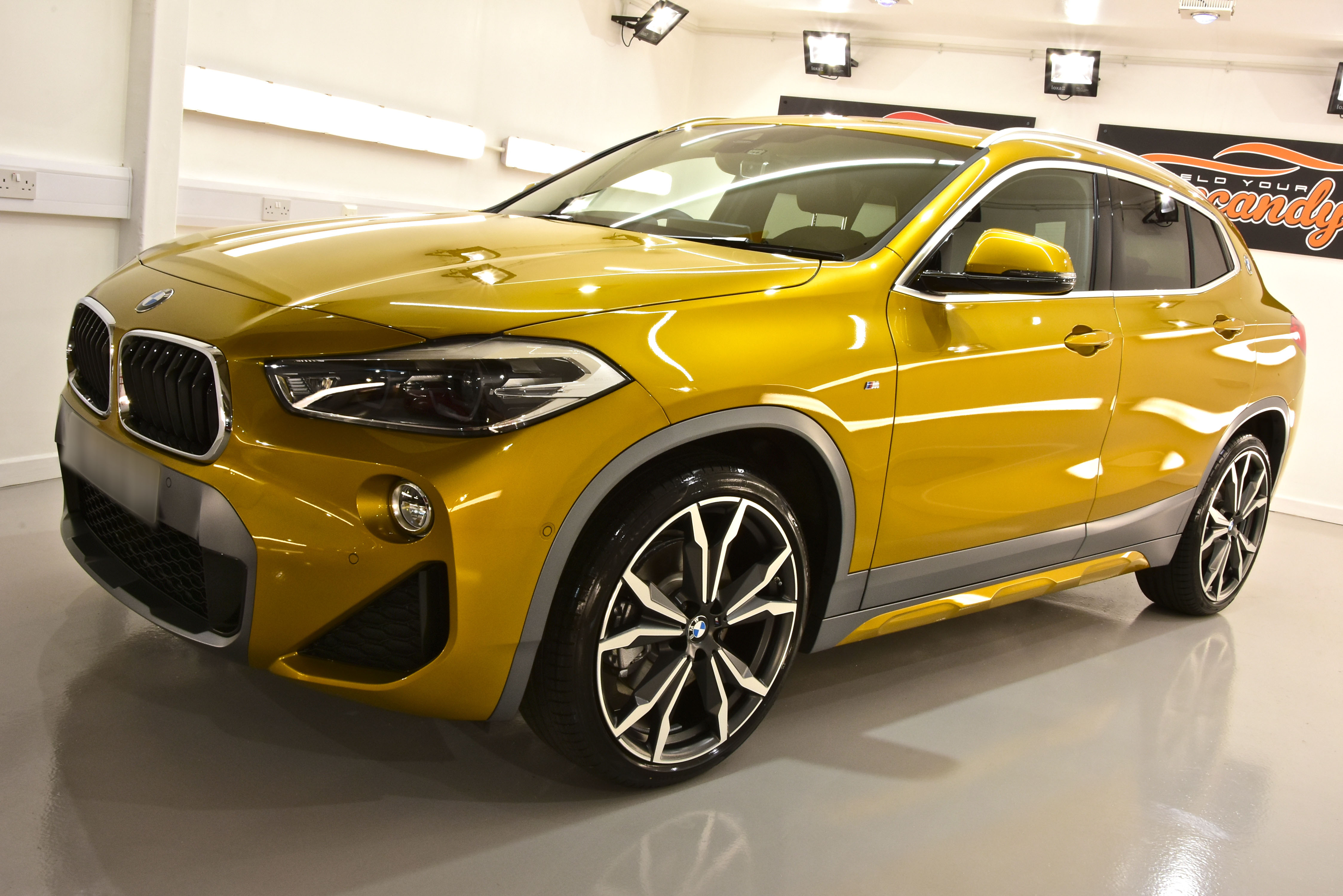BMW X2 New Car Enhancement and Protection Detail + Gtechniq Crystal Serum Ultra and EXOv4