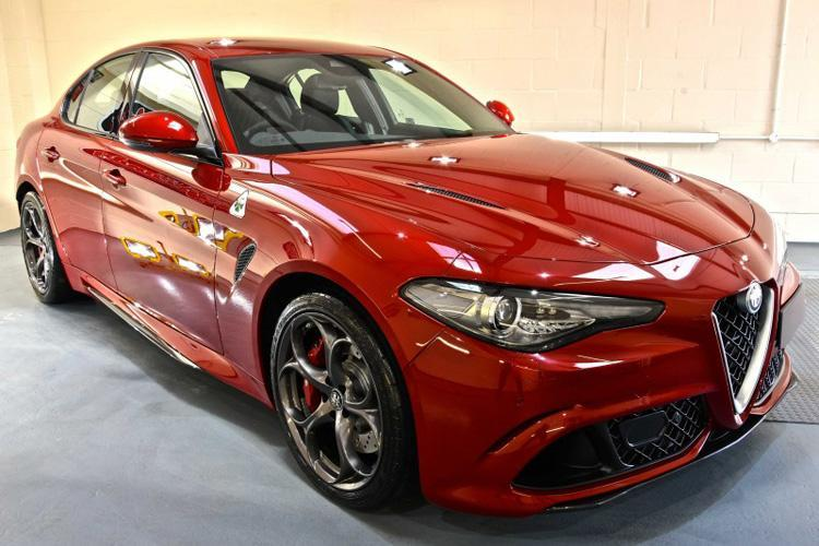 Alfa Romeo Quadrifoglio New Car Enhancement and Protection Detail + Gtechniq Crystal Serum Ultra and EXOv4