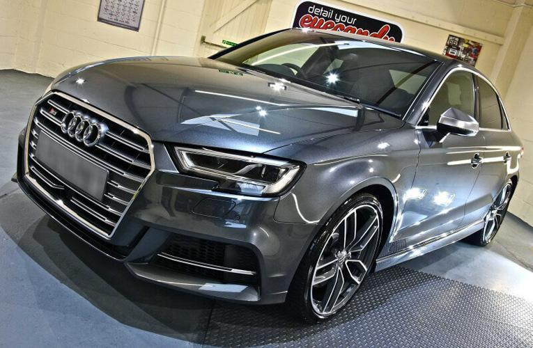 AUDI S3 NEW Car Enhancement and Protection Detail with Gyeon Duraflex