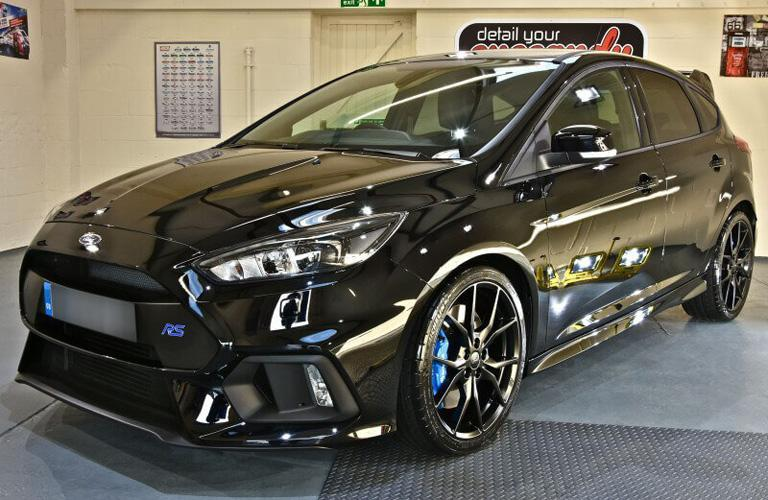 Ford Focus RS New Car Enhancement and Protection Detail with Gtechniq Crystal Serum Light and EXOv3