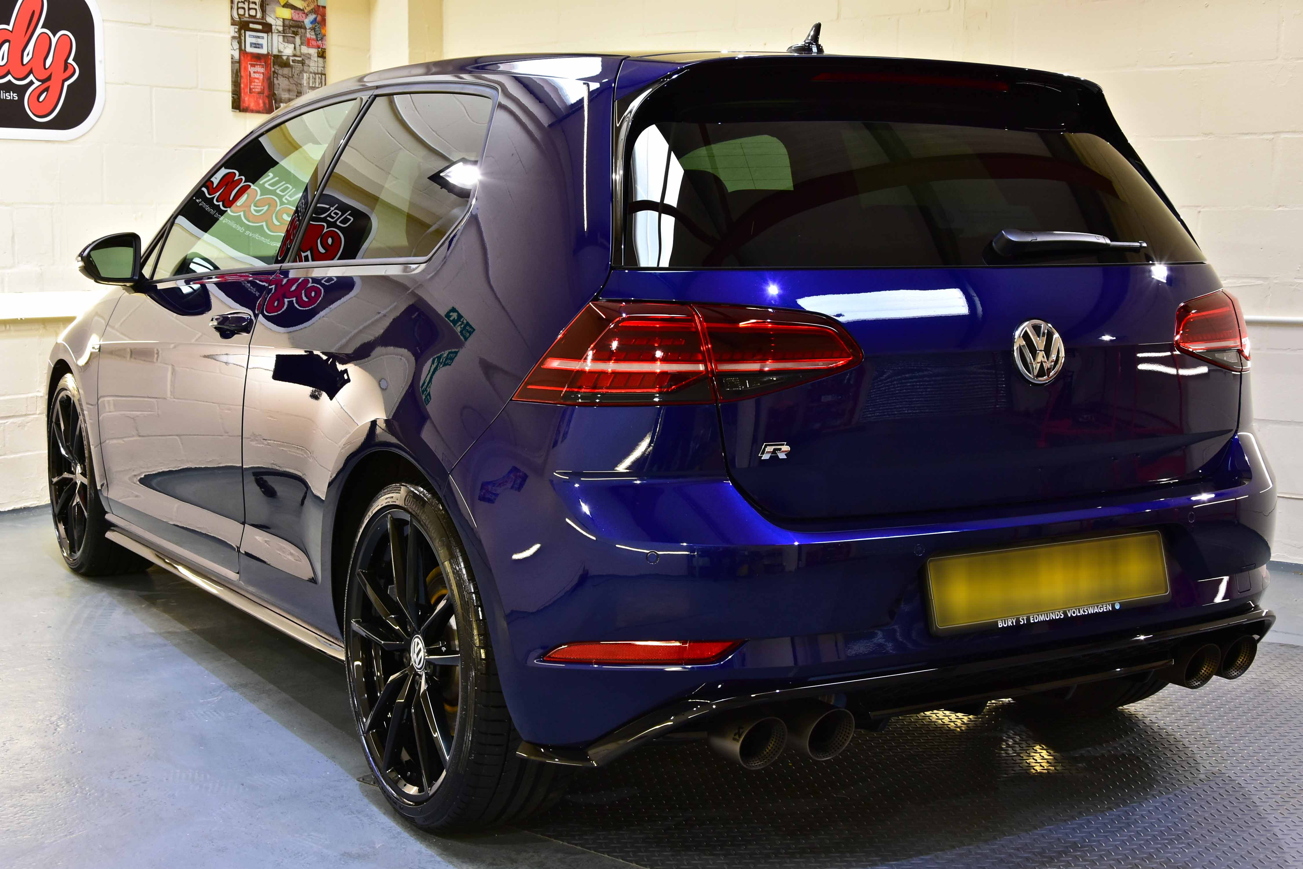 Golf R Light Paint Correction Detail with Gtechniq Crystal Serum Ultra