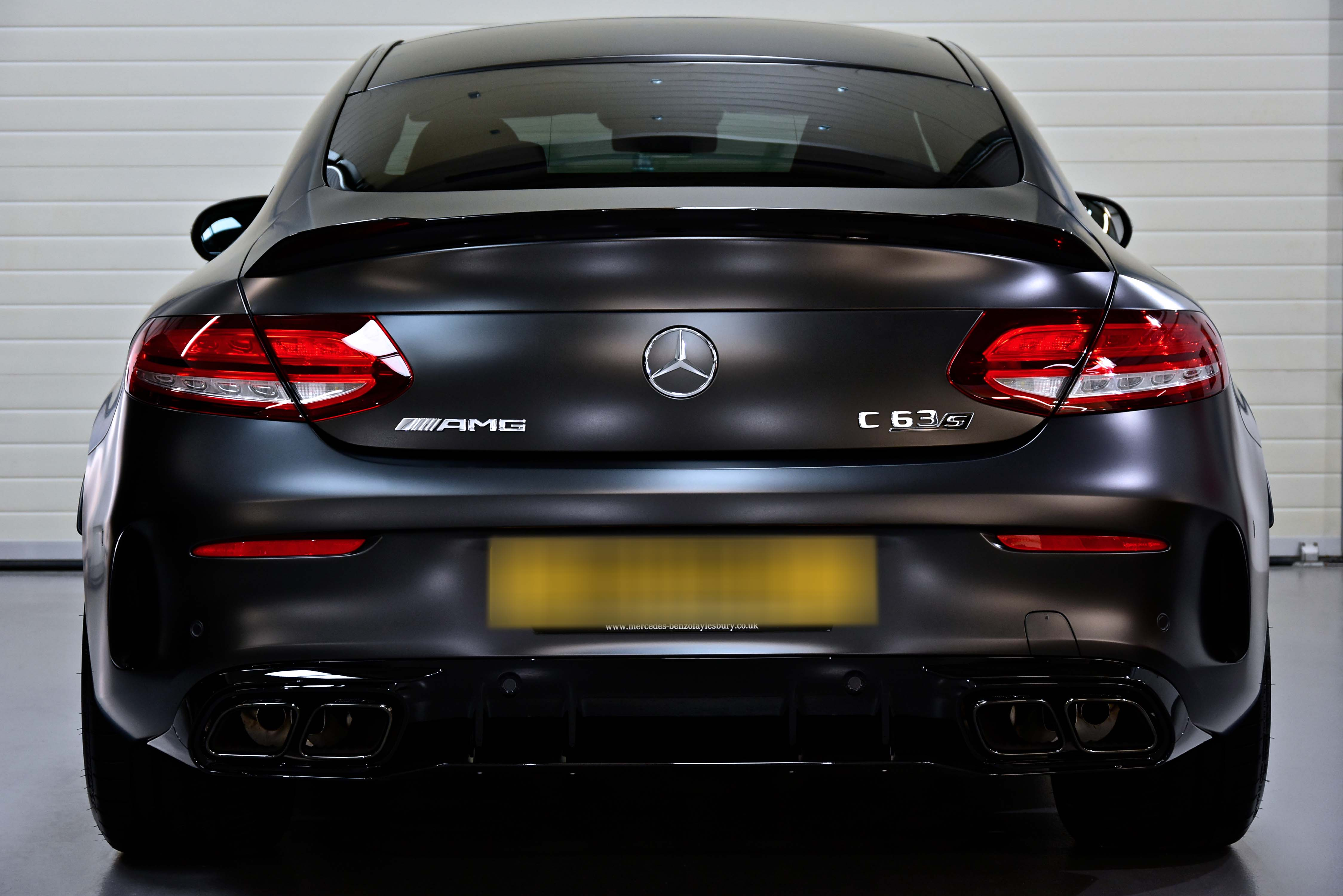 Mercedes-AMG C63 Surface Protection Detail with Gyeon Q² Matte